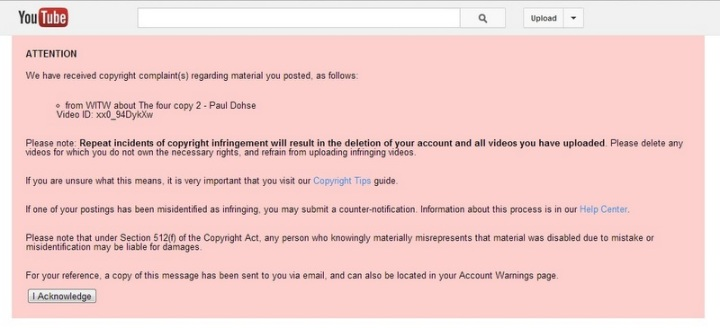 Youtube warning (2)
