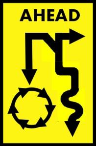 JM Road Sign