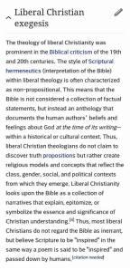 Liberal Chrsitian
