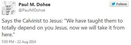 The Calvinist Says