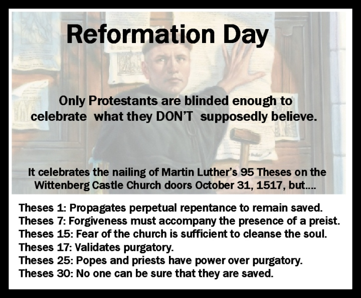 Reformation Day Card