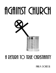 Against Church Cover