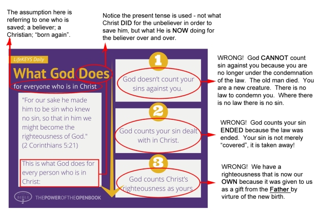 what God does - corrected
