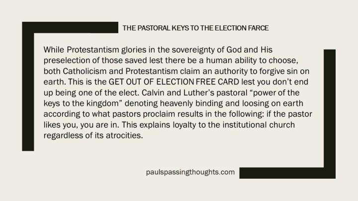 The Election Farce