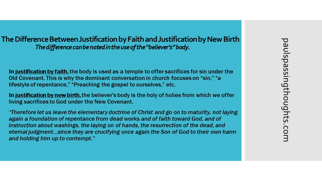 difference between old and new covenant