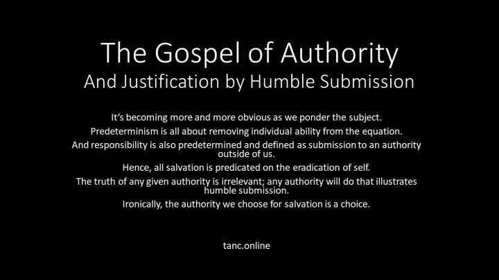 Gospel of Authority